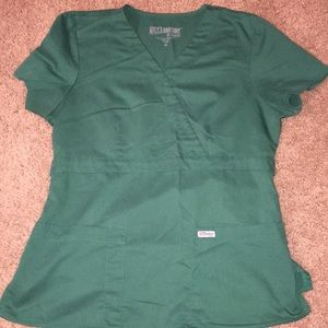 Grey's Anatomy size medium scrub top